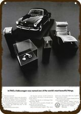 1969 VOLKSWAGEN VW KARMANN GHIA Vintage Look REPLICA METAL SIGN - ERICOFON