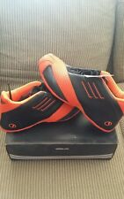 Adidas NEW Tmac 1 Basketball DEADSTOCK shoes Size 12 Black/Orange BRAND NEW