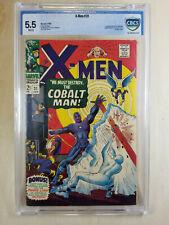 1st appearance COBALT MAN X-Men #31 CBCS 5.5 White Pages not CGC