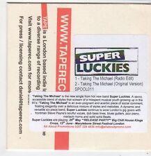 (FJ226) Super Luckies, Taking The Michael - DJ CD