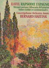 BERNARD HAITINKconcertgebouw orchestra AMSTERDAMRavel - rapshodie EspagnoleEX
