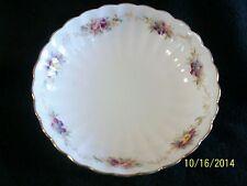 Antique Adderley Fluted Porcelain Bowl