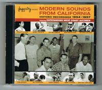 ♫ MODERN SOUNDS FROM CALIFORNIA 1954-1957 - 2 CD SET 38 TITRES - TRÈS BON ÉTAT ♫
