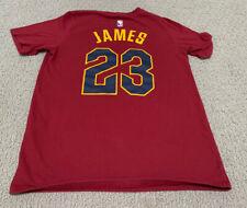Nike Dri-Fit LeBron James Cleveland Cavaliers Youth Boy's Medium Jersey T-Shirt