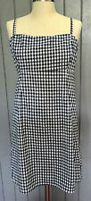 COOPERATIVE by Urban Outfitters Sz 8 Sleeveless, Lined Dress 100% Cotton Gingham