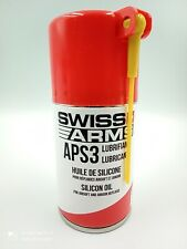 Airsoft Bouteille 130ml silicone entretien APS3 SWISS ARMS neuf en stock