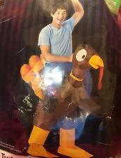 AirBlown Inflatable Turkey Rider Costume Adult