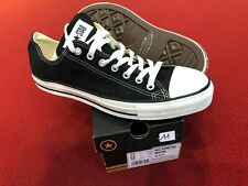 Converse All Star Ox m9166 Black EUR 45 UK 11