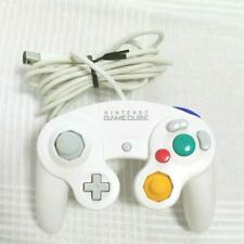 Nintendo Official GameCube Controller Pad  White Spice GC Wii Joystick Used EX
