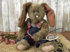 1995 Ganz Country Bunny Stuffed Plush REBA Rabbit Cottage Collectibles #CC515