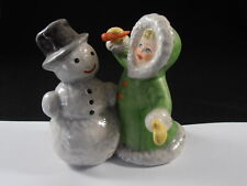 New ListingGoebel Hummel Snowman Little Girl With Carrot Figurine 11 705 Wintertime Fun