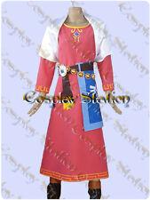 The Legend of Zelda Skyward Sword Zelda Cosplay Costume_commission794