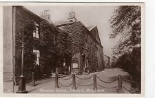 MORAVIAN CHURCH, FAIRFIELD, MANCHESTER: Lancashire postcard (C3871).