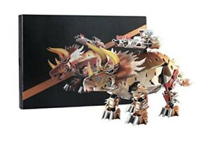 3D Jigsaw  Puzzle The Robot Triceratops Dinosaur