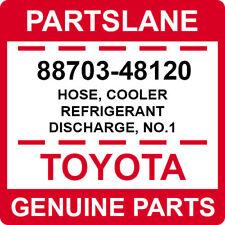 88703-48120 Toyota OEM Genuine HOSE, COOLER REFRIGERANT DISCHARGE, NO.1