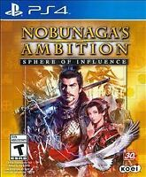 Nobunaga's Ambition: Sphere of Influence  ( PS4 / PlayStation 4 ) BRAND NEW