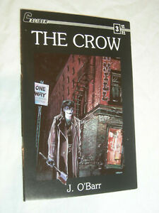 The Crow #3 VF 1st print J. O'Barr Caliber Press Movie Tie-In SCARCE