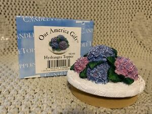 OUR AMERICAN GIFT HYDRANGEA TOPPER BRAND NEW IN BOX