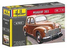 Maquette Heller Voiture Peugeot 203 - ech 1/43