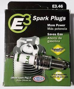 E3.46 E3 Premium Automotive Spark Plugs - 4 SPARK PLUGS