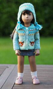 Sasha Doll Highland Cow Jacket Set by Rosie