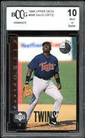 1998 Upper Deck #696 David Ortiz Rookie Card BGS BCCG 10 Mint+