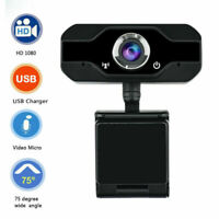 Full HD 1080P Webcam With Microphone MIC USB Camera Desktop Laptop For PC