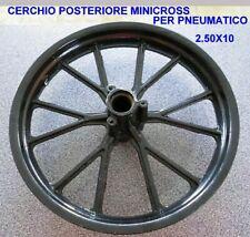 Cerchio Posteriore Minicross Per Gomma 2.50x10 Nuovo
