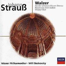 WILLI/WP BOSKOWSKY - WIENER WALZER  CD NEU