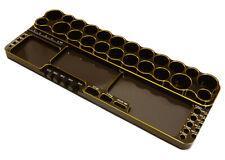 Integy C27178GOLD Universal Workbench Organizer 250x98x19mm Workstation Tray