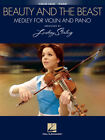 Beauty And The Beast Medley For Violin & Piano Lindsey Stirling Book NEW!