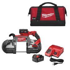 Milwaukee 2729-22 M18 Fuel Deep Cut Band Saw Kit with 2 Batt New