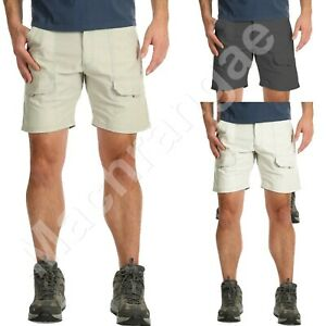 """Mens 30""""-48"""" Cargo Summer Shorts Ex Store Hiker Cotton Casual Work Pant"""