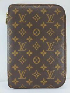 Louis Vuitton Monogram Zippered Agenda/Address Book