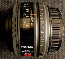 Pentax 50mm f/1.7 SMC Pentax-F Autofocus Lens KAF Mount, EXC++