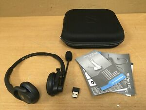 Sennheiser MB Pro 2 UC ML Bluetooth Headset Black with Case (no cradle/charger)