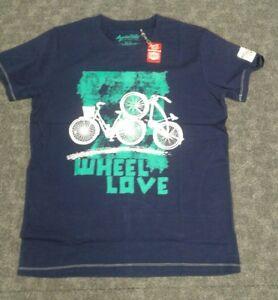 Mens Apres Velo large WHEEL LOVE T shirt
