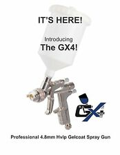 The Gelcoater GX4 HVLP Gelcoat and Resin Spray Gun with 4.8mm Nozzle ESG660