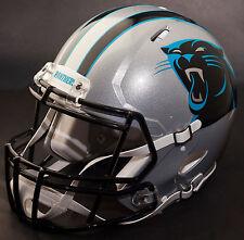 ***CUSTOM*** CAROLINA PANTHERS NFL Riddell Full Size SPEED Football Helmet