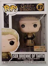 Funko Pop EXCLUSIVE Ser Brienne of Tarth in Armor #87 Game of Thrones GoT Figure