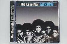 The Jacksons -  The Essential  CD Album (Promo Copy)
