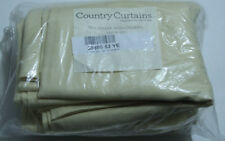 """country curtains Cotton Duck Curtains - Pair 3"""" hem 50895 63 YEllow"""