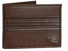 Rip Curl Wallet With CC Note and Coin Sections Rapture Boss All Day Brown