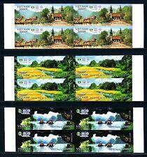 N.1053B-Vietnam-IMPERF -Block 4 - Trang An-Natural Heritage world- UNESCO