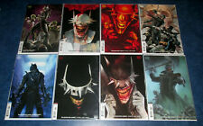 BATMAN WHO LAUGHS 1 2 3 4 5 6 7 + GRIM KNIGHT #1 B variant set 1st print DC NM