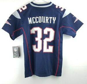 New England Patriots Devin McCOURTY Jersey Nike On Field Youth Size Medium NWT