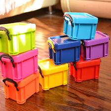 Decorative Small Storage Box Makeup Cosmetic Organizer Case Desk Decor