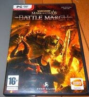 Warhammer MARK OF CHAOS : Battle March (PC 2008) with manual VGC