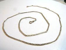 Vintage 9ct 375 Gold Chain Necklace  Not Scrap