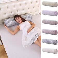 Round Shape Bolster Pillow Back Cushion Bed Long Body Support Pillow Orthopaedic